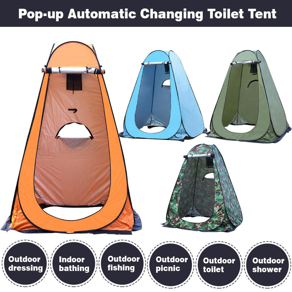Waterproof Pop Up Toilet Tent Camping Shower Privacy Tent for Outdoor Camping /& Beach Camping Toilet Tent Pop Up Pod Instant Portable Changing Room Privacy Tent