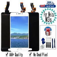 """5.0 """"M3S mini LCD Für MEIZU M3s LCD Display Touchscreen Digitizer Montage Ersatz mit Rahmen Für MEIZU M3smini-in Handy-LCDs aus Handys & Telekommunikation bei"""