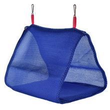 Breathable Mesh Bird Hammock Hanging Cage Swing Tent Bed Parrot Nest House Toy(China)