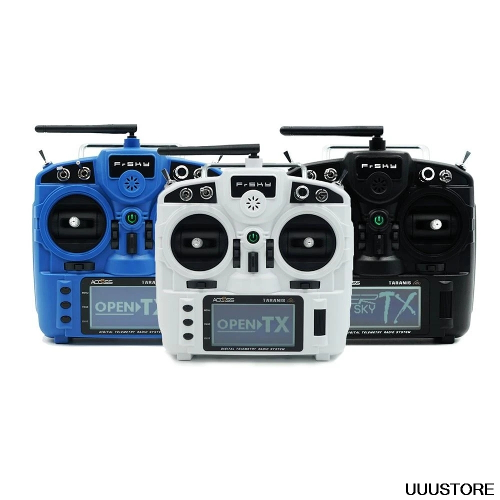 FrSky Taranis X9 Lite 2.4GHz 24CH Form Factor Portable Transmitter mode2 for RC FPV Drone plane helicopter hobby DIY Toys image
