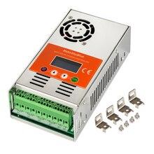 Makeskyblue 50a mppt controlador de carga solar max 160 v 2200 w pv entrada display lcd automático para 12 v 24 36 v 48 v sistema v119 wifi