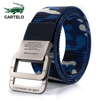 CARTELO metal multifunctional buckle outdoor sports hook new Tactical belt Military high quality Nylon men's training belt military web belt 1 5 inch rapid release gun belt tactical nylon duty belt with buckle multifunctional gear outdoor equipment