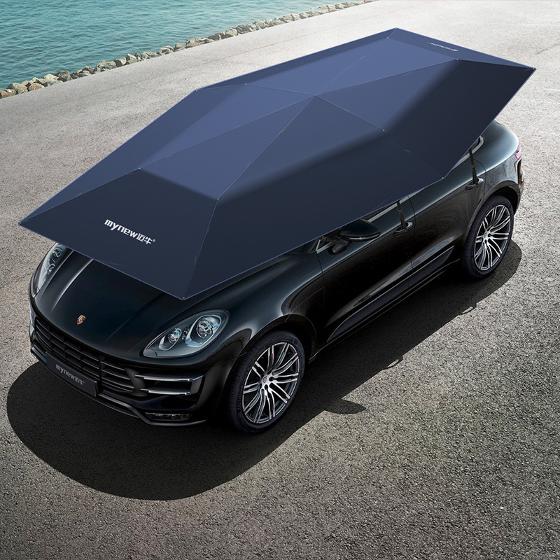 2019 portable protection de voiture 4.8 mètres 2in 1 Mynew tentes spéciales automatique voiture ombre soleil parapluie voiture accessoires Anti UV