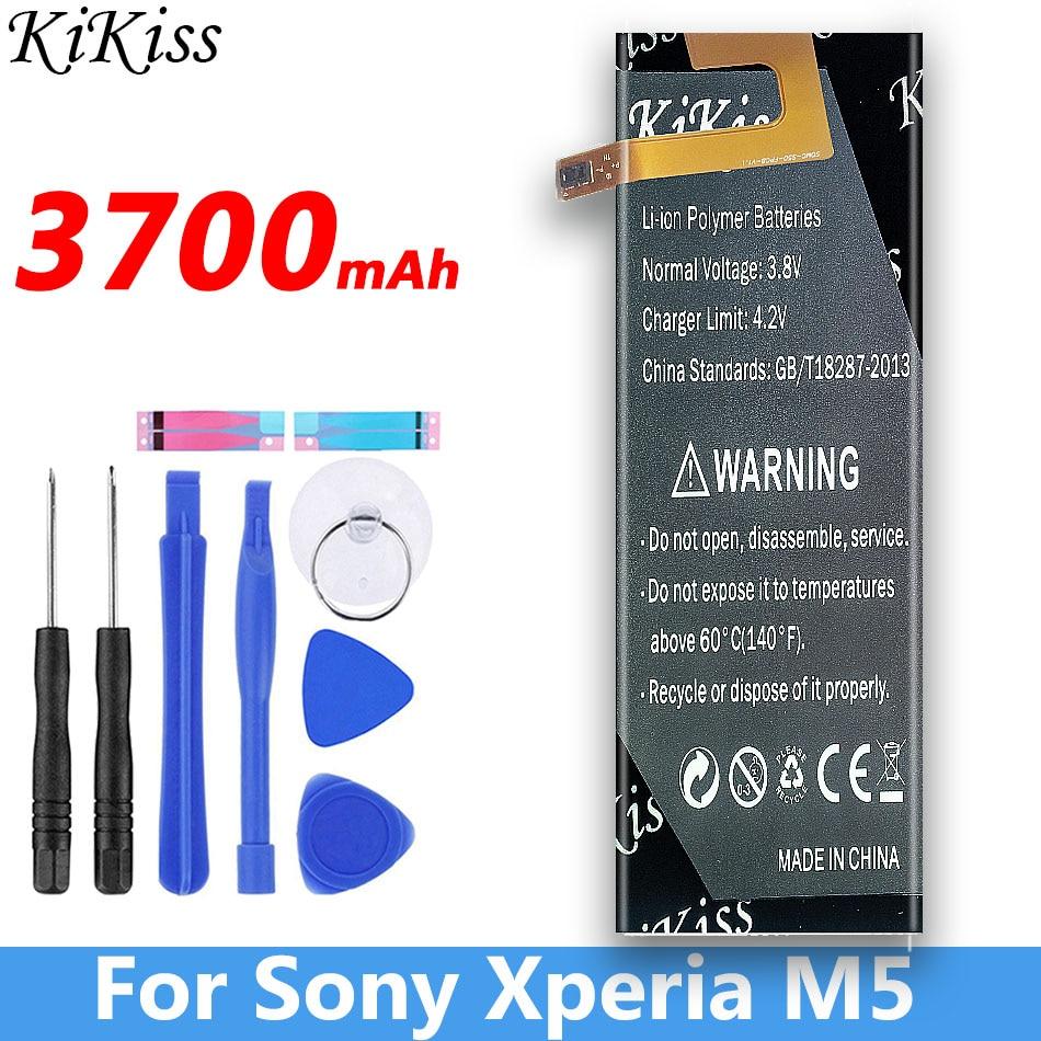 3700mAh AGPB016-A001 Battery For Sony Xperia M5 Battery M 5 E5603 E5606 E5653 E5633 E5643 E5663 E5603 E5606
