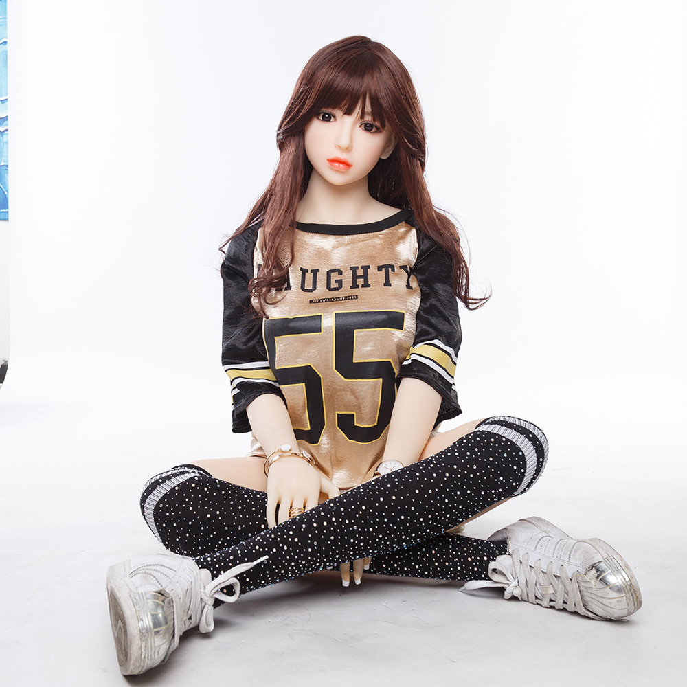 Hot Selling Asian <font><b>Sex</b></font> Doll 158cm <font><b>18</b></font> Young <font><b>Girl</b></font> Real Love Doll image
