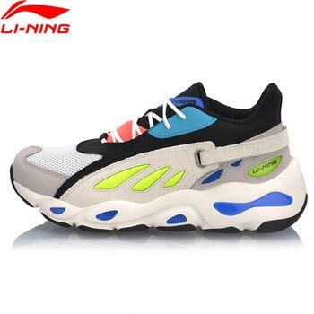 (Break Code)Li-Ning Men Butterfly Lifestyle Shoes Dad Shoes Wearable Sneakers LiNing li ning Sport Shoes AGLP035 1