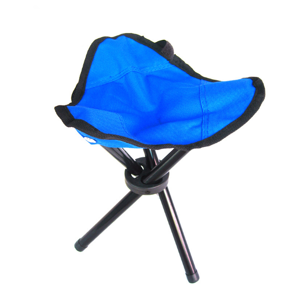 Fashion Stable Three-legged Chair Creative Personality Folding Fishing Chair Simple Outdoor Camping Necessary Folding Chair Q379