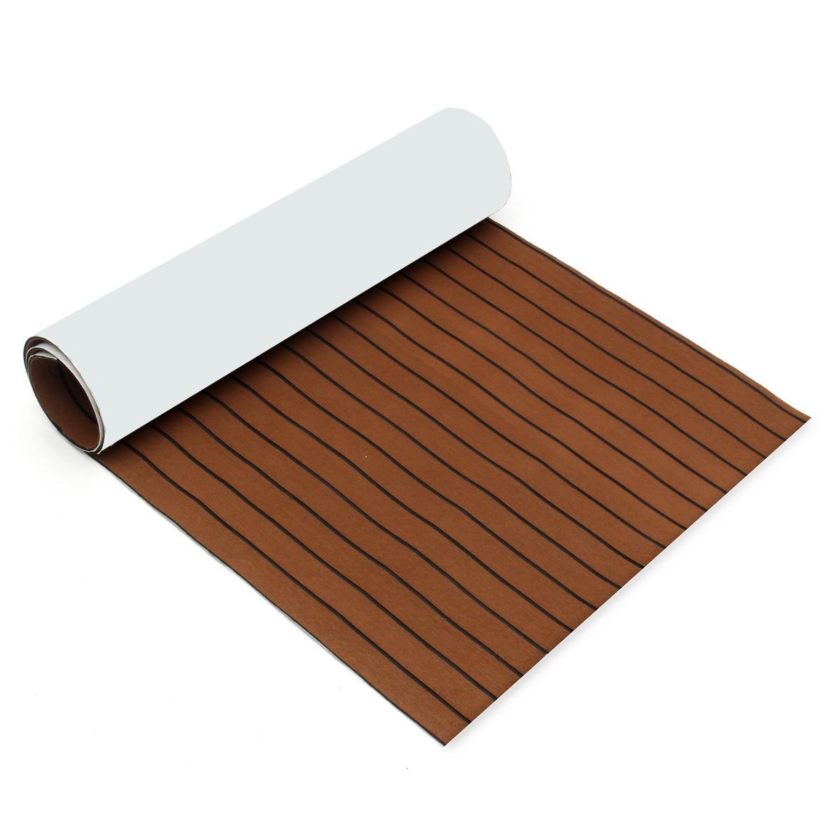 Foam Teak Decking Self-Adhesive 2500x1000x6mm EVA Foam Marine Flooring Faux Boat Decking Sheet Accessories Marine 3 Styles