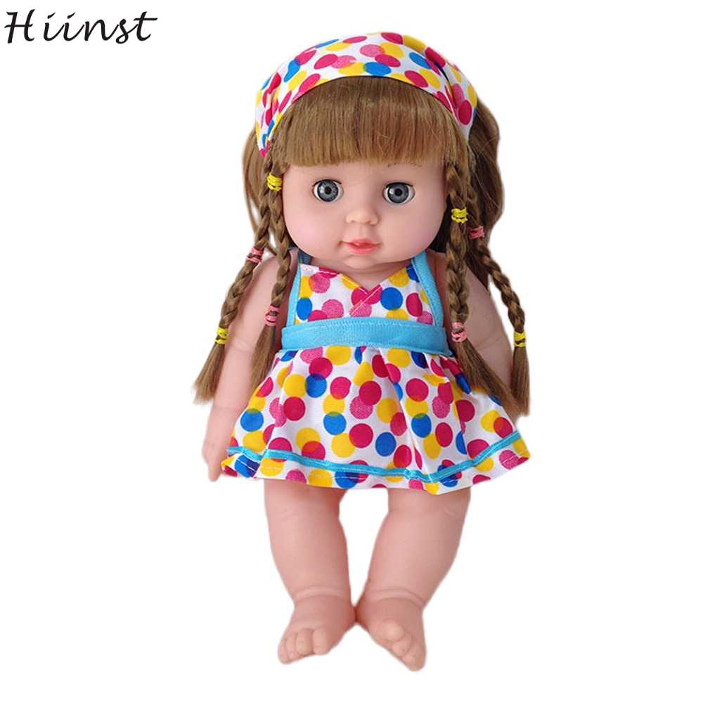 Hiinst Silicone Reborn Baby Dolls Dolls For Girls Christmas Gifts For Kids Girls Cute Dolls For Kids Toddler Reborn Baby Doll Aliexpress