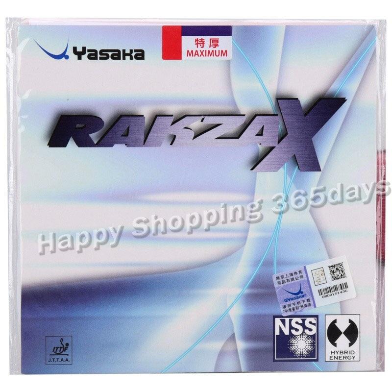 YASAKA RAKZA X SOFT (RAKZAX, RKX SOFT) Table Tennis Rubber Pips-In Yasaka Original Ping Pong Sponge Tenis De Mesa