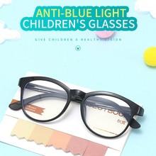 SEEMFLY Newst Kids Anti Blue Light Glasses for Boys Girls Ultralight Eye Protection Compute