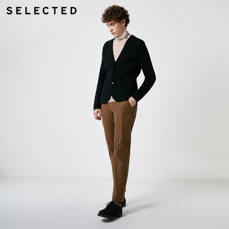 เลือกฤดูใบไม้ร่วงและฤดูหนาวผู้ชายใหม่ชุดคอปกติ Fit เสื้อกันหนาว S | 418425542