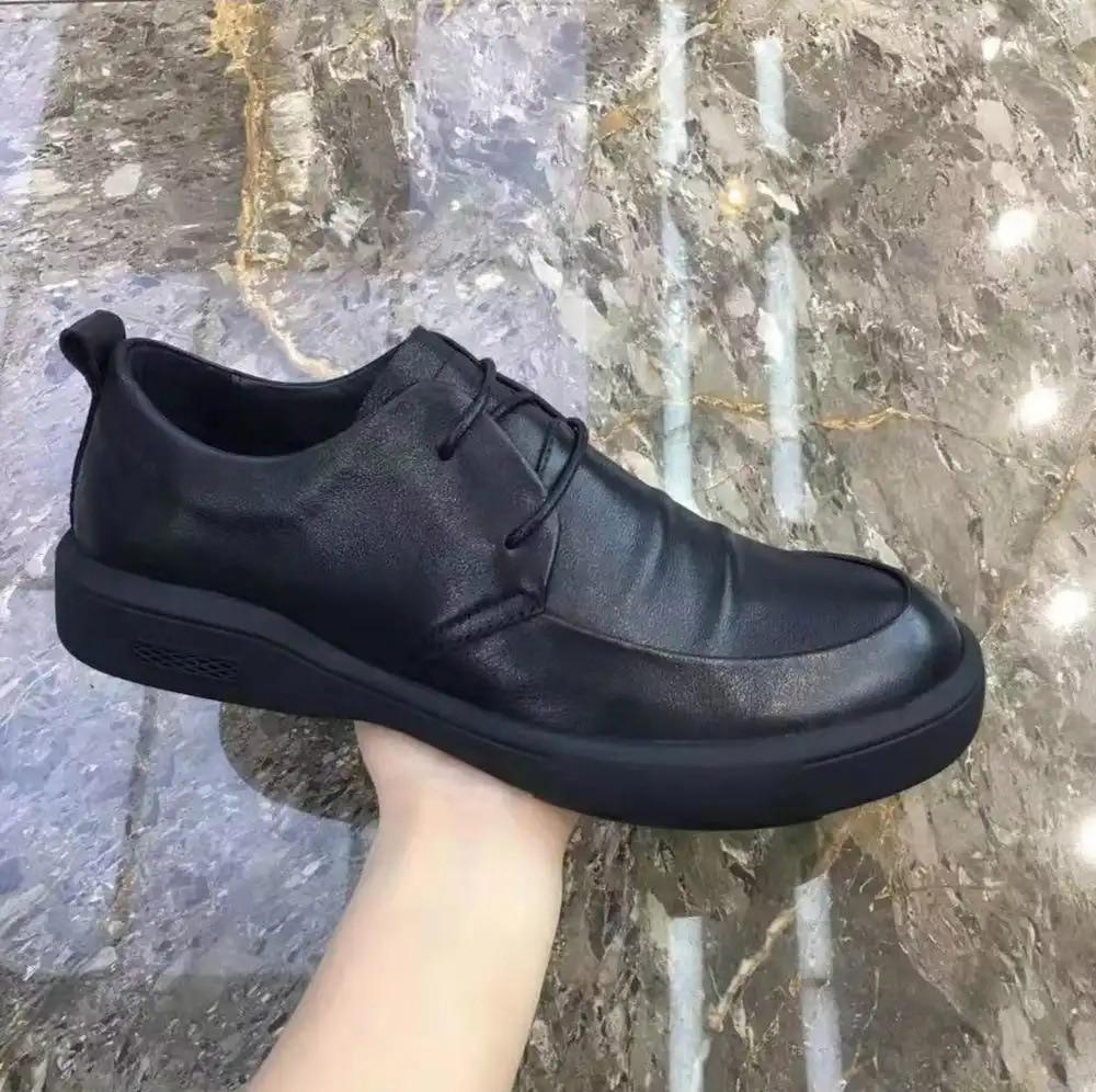 Chelsea Boots Men 2020 Spring & Autumn Classic Casual Boots Male Fashion Shoes Men Lace-up Casual Botas Black Brand Men Boots
