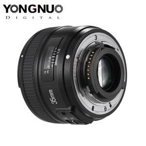 Image 4 - YONGNUO YN35mm F2.0 F2N עדשת YN35mm AF/MF פוקוס עדשה עבור ניקון F הר D7100 D3200 D3300 D3100 D5100 d90 DSLR מצלמה YN35mm עדשה