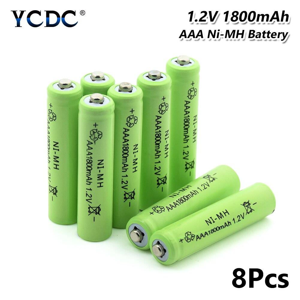 4/8/12/16/20 1,2 V Зеленый AAA 1800 мАч никель металл гидридных аккумуляторных батарей 3A AAA никель металл гидридного Батарея с акумуляторная батарея чехол для Мощность банк светодиодный фонарь фонарик|Перезаряжаемые батареи|   | АлиЭкспресс