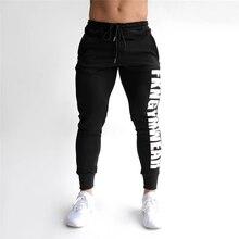 2019 Autumn Gyms Men's Pants Joggers Skinny Sweat P