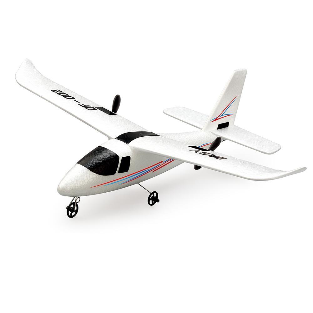 RCtown-pilote d'avion avec télécommande, mousse artisanale électrique RTF EPP, jouet RC à aile fixe pour l'extérieur, QF-002 352mm, envergure 2.4G, 2 canaux 2