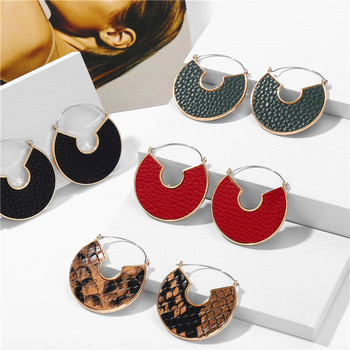 IF ME Fashion Leather Circle Hoop Earrings Big Round Korean Earring Alloy Metal Red Colorful Brincos.jpg 350x350 - IF ME Fashion Leather Circle Hoop Earrings Big Round Korean Earring Alloy Metal Red Colorful Brincos 2020 New Jewelry Gift