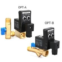 Automatic Electronic Switch Drainage Valve 220V 1/2
