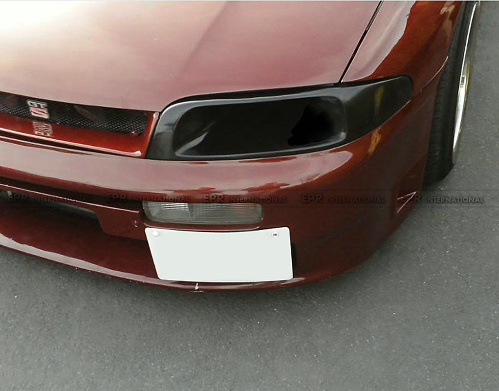 VEN Style FRP Fiber Unpainted Front <font><b>Headlight</b></font> Replacement Exterior Accessories Body Kit(left) For Nissan <font><b>R33</b></font> Skyline GTS GTR image