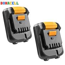 Bonacell For Dewalt 2000mAh 12V MAX Li-ion DCB120 DCB121 DCB123 DCB125 DCD710 DCF813 DCF815 DCF610 DCB100 DCT410S цена 2017