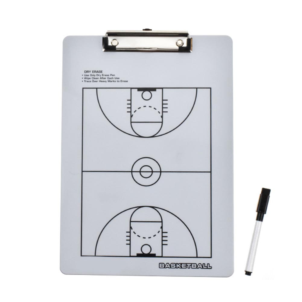 Whiteboard Football Basketball Sports Training Aids Strategy Wear Resistant Volleyball Multipurpose Coaching Board Marker