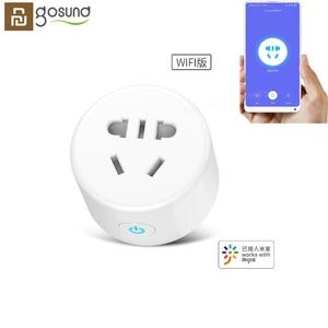 Image 1 - الأصلي Youpin Gosund CP1 Mijia مأخذ (فيشة) ذكي المنزل الذكية WiFi مقبس الهاتف مؤقت تحكم عن بُعد مقبس التحكم عن بعد مع Mijia التطبيق