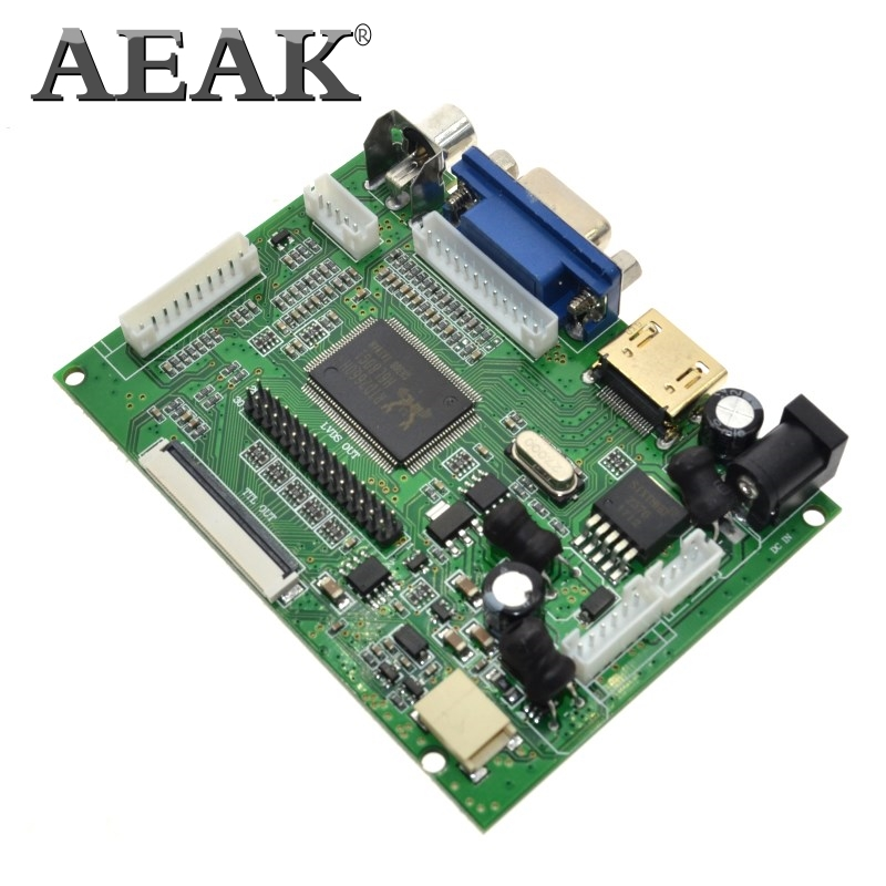 AEAK HDMI VGA AV Screen Display Module For Pcduino Banana Pi No Cluding 7 Inch Raspberry Pi IPS LCD