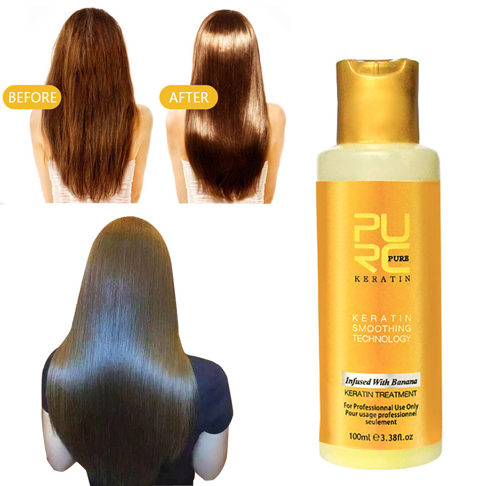 US $447.47 4475% OFF47ml Keratin Collagen Protein Intensive For Dry Damaged  Hair Repaid Treatment Tonic Keratin Soft Hair & Scalp Treatment