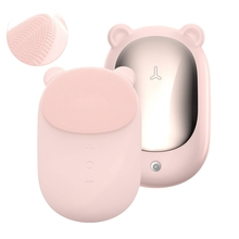 Facial-Cleansing-Brush Massage Beauty-Device Sonic Exfoliation Silicon All-Skin-Types