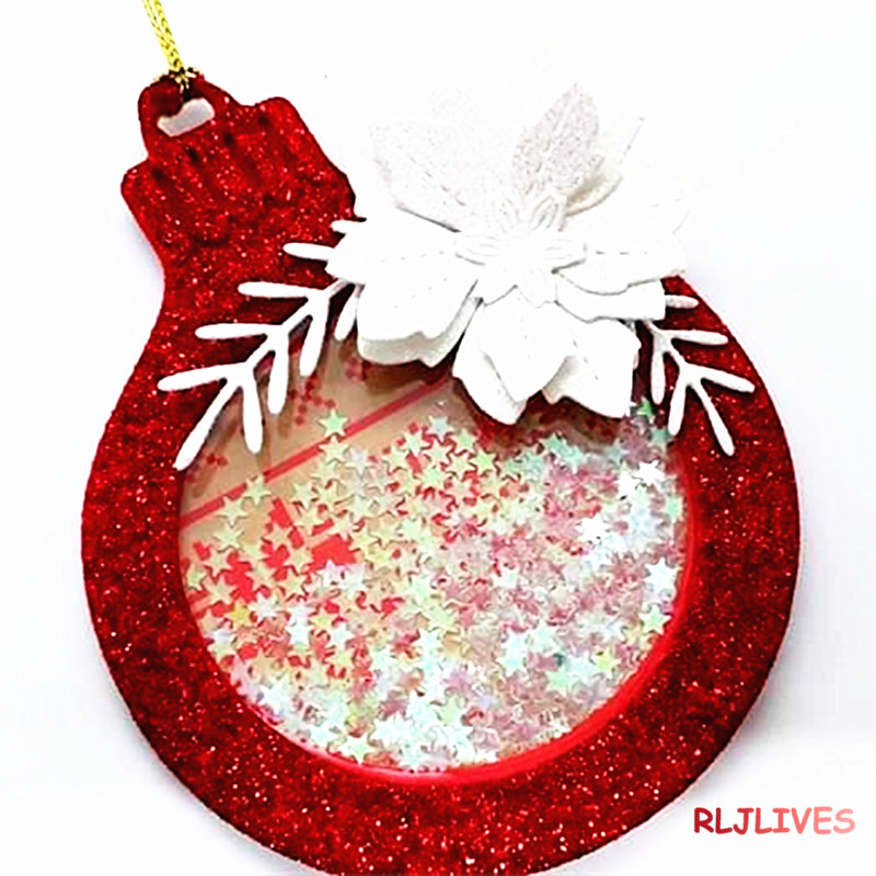 Christmas Shaker Ornament Metal Cutting Dies DIY Scrapbooking album Paper Cards