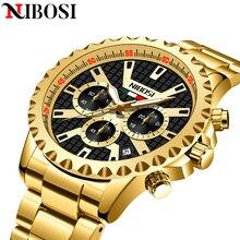 2021 NIBOSI Top Brand Mens Watches Luxury Quartz Clock Sports Men Watch Famous Dress Waterproof Watch For Men Relogio Masculino