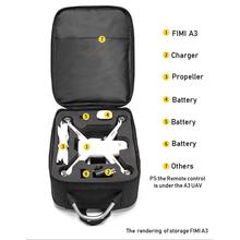 Plecak na ramię FIMI A3 do przechowywania akcesoriów FIMI A3 futerał do przenoszenia dronów tanie tanio BEHORSE for Fimi A3 29*17*39cm XIAOMI Drone pudełka