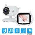 3,5 дюймов видео беспроводной детский монитор камера безопасности няня ИК ночного видения голосовой звонок Babyphone с контролем температуры