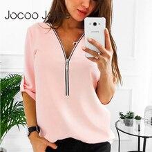 Женские рубашки на молнии с коротким рукавом, сексуальные женские топы и блузки с v-образным вырезом, повседневные футболки, женская одежда размера плюс 5XL