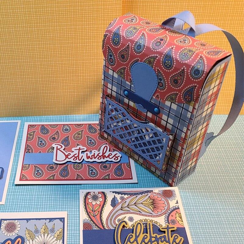 Школьные сумки формы металлические режущие штампы для украшения