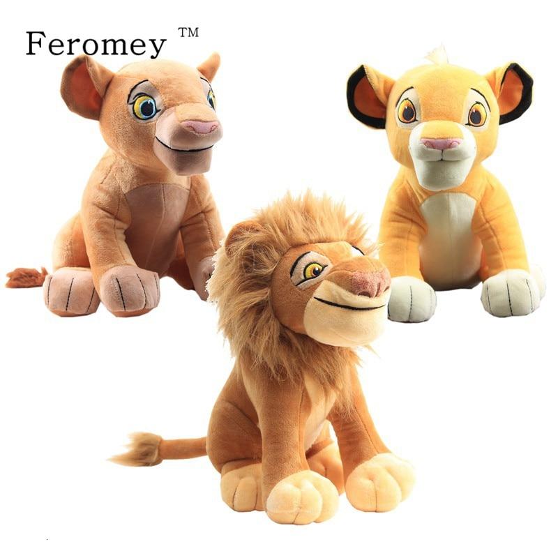 The Lion King Plush Doll Simba Mufasa Nala Plush Doll Toy Cartoon Anime The Lion King Simba Stuffed Toys Children Gift