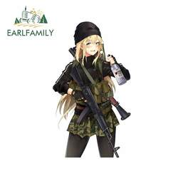 EARLFAMILY 13cm x 7.8cm For Anime Car Truck Decal Vinyl Material Car Stickers Waterproof Scratch-Proof For JDM SUV RV