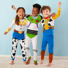 1-7y New kids Toy Story Woody Buzz Lightyear pajamas sets Ba