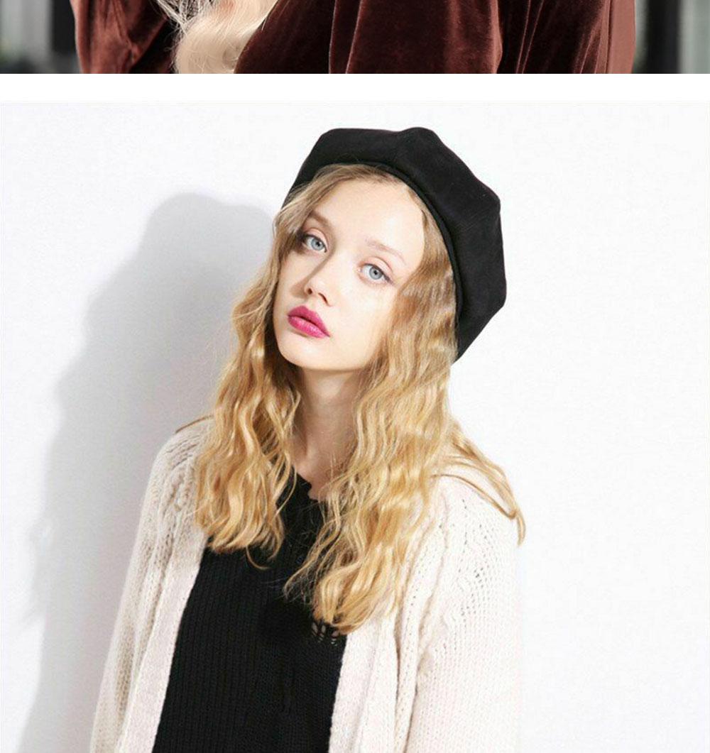 Elegant Lady Women Wool Felt Warm French Classic Beret Beanie Slouch Hat Cap Tam 32