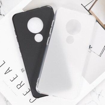 Para Nokia 7,2 6,2 funda protectora completa de silicona TPU antigolpes para fundas de teléfono