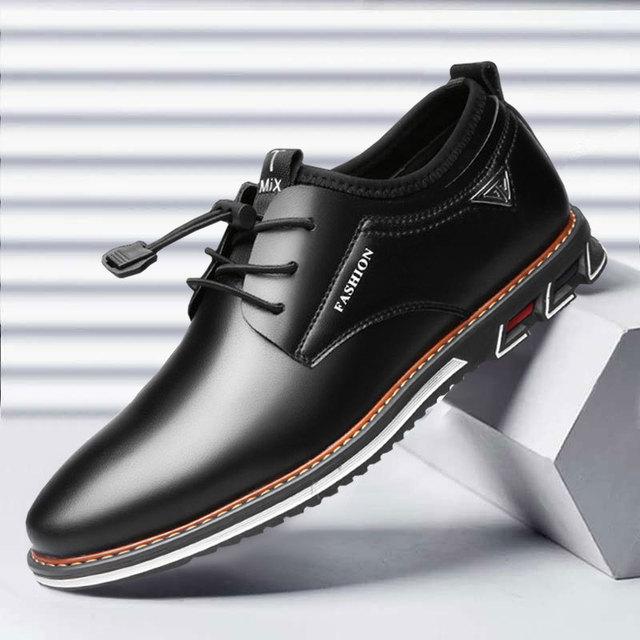 Men Cowhide Leather Shoes  2