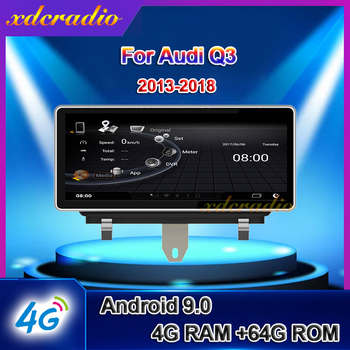 Xdcradio 10.25 inch Android 9.0 For Audi Q3 Car Radio Automotivo Car Multimedia Player Auto GPS Navigation Stereo 4G 2013 - 2018 image