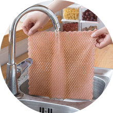 Anti-grease Wiping Rags Kitchen efficient Super Absorbent  Cleaning Towel Quality Microfiber Cleaning Cloth Washing Dish Cloth