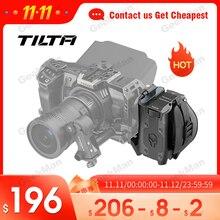 TILTA צד פוקוס ידית עבור BMPCC 4k 6K מצלמה כלוב צד ידית עבור F970 LP E6 F550 F570 סוללה blackmagic כלוב אבזרים