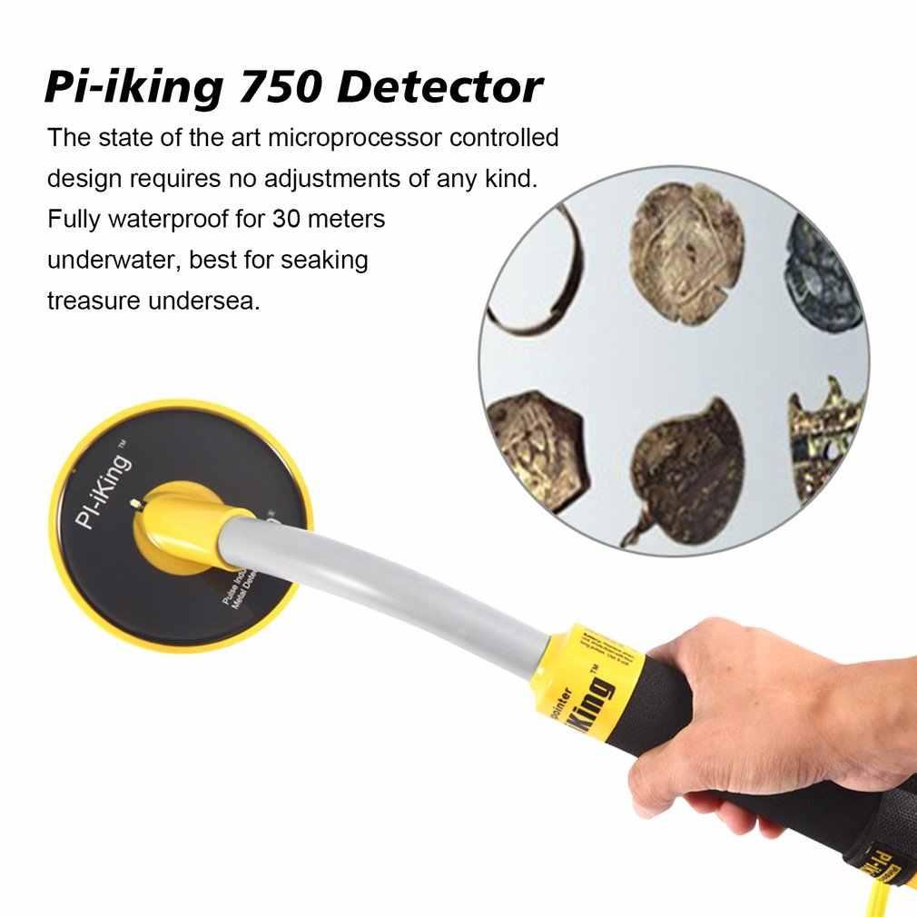 PI-iking 750 металлоискатель 30 м Водонепроницаемый подводный металлоискатель Высокая чувствительность импульсный индукционный ручной Pinpointer