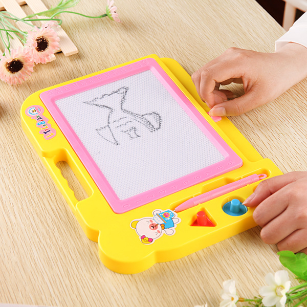 Children Drawing Board Magnetic Xie Zi Ban Bi Color Kids CHILDREN'S Magnetic Baby Doodle Board 1-3 Years Old 2 Toy