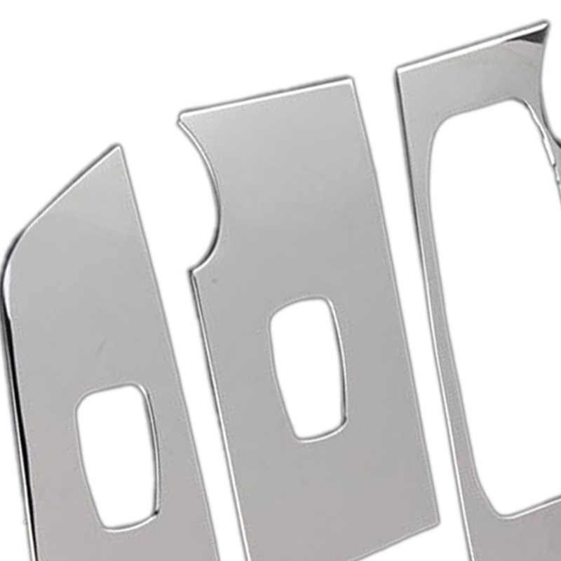 Interruptor da janela do braço porta carro adesivos decoração lantejoulas painel de controle capa lhd para hyundai ix25 creta 2015 2016 acessórios