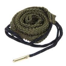 Otwór wąż liny pistolet do czyszczenia 38 Cal .357 Cal .380 Cal i 9mm pistolet zestaw do czyszczenia Boresnake Cleaner polowanie Acccessory