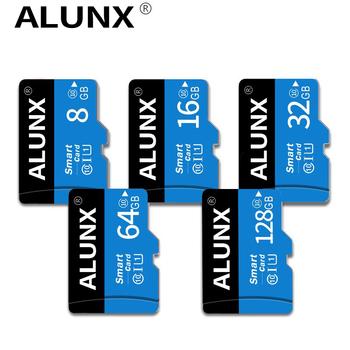 Micro karta SD TF 8 16 32 64 128 256 GB Class 10 karta pamięci Flash Mmicrosd 8GB 16GB 32GB 64GB 128GB 256 GB dla Adapter do smartfona tanie i dobre opinie ALUNX NONE CN (pochodzenie) Tf micro sd card